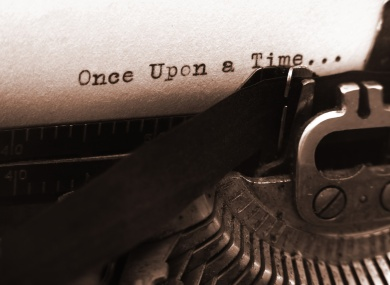 old typewriter (focus on text)